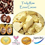 Bulk 5 LBS Fresh Raw Cacao Butter (Unrefined, Unbleached & Non-Deodorized)