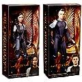 Barbie Black Label Hunger Games Katniss & Peeta Collectors Figures
