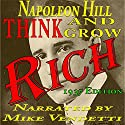 Think and Grow Rich Audiobook by Napoleon Hill Narrated by Mike Vendetti