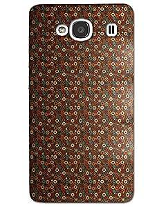 MobileGabbar Xiaomi Redmi 2 Back Cover Plastic Hard Case