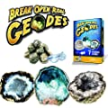 Geode Explorer Science Kit - Crack Open 7 Amazing Rocks and Find Crystals!