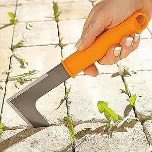 Short Handled Garden Weeding Hand Tool Patio Lawn Garden