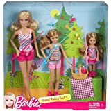 Barbie Sisters' Fishing Fun! Set of 3 (Barbie, Stacie, Chelsea)