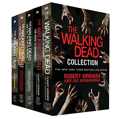 The Walking Dead Collection: Rise of the Governor, The Road to Woodbury, The fall of the Governor, Part I, The Fall of the Governor, Part II, Just Another Day at the Office (The Walking Dead Series)