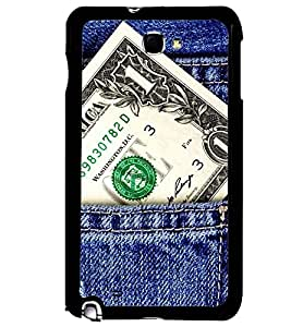 Printvisa Money Power In Your Pocket Back Case Cover for Samsung Galaxy Note 2::Samsung Galaxy Note 2 N7100