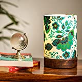 ExclusiveLane Floral Table Lamp - Canvas Handpainted Home Decor Gift item Lamp and Lights
