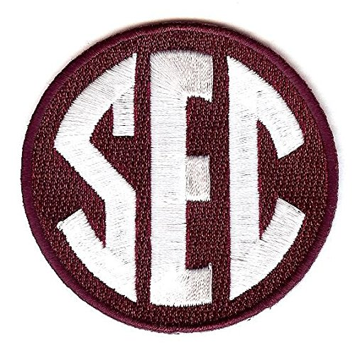 SEC Conference Team Jersey Uniform Patch Mississippi State Bulldogs