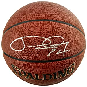 Paul George Indiana Pacers Autographed Spalding Indoor Outdoor Basketball - Memories... by Sports Memorabilia
