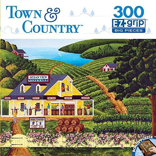 Masterpieces Town & Country EZ Grip Vineyard Visit Puzzle (300 Piece)