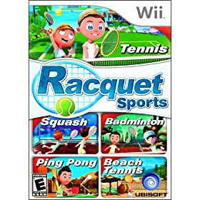 Racquet Sports  w/o Camera: Video Games