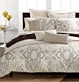 Echo Odyssey Twin Duvet Cover Cotton Browns Paisley 72 x 90