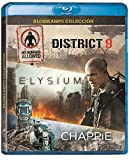 Chappie + Elysium + District 9 [Blu-ray]