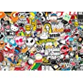 9x A4 Sticker Bombing Sheet - Design 001 - Sticker Bomb - JDM VW DUB