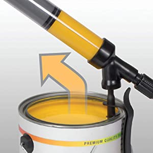 HomeRight PaintStick EZ-Twist C800952.M Paint Roller Applicator, Painting for Home Interior, Home Painting tool for Painting Walls and Ceilings (Renewed) (Tamaño: EZ-Twist)