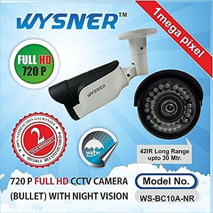Wysner-WS-BC10A-NR-1.0MP-Bullet-CCTV-Camera