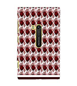 PrintDhaba Pattern D-1658 Back Case Cover for NOKIA LUMIA 920 (Multi-Coloured)