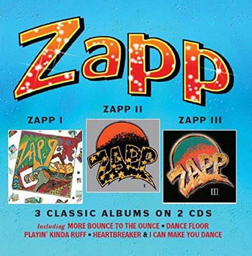 Zapp I / Zapp II / Zapp III: 3 Classic Albums on 2CDs - Deluxe Edition (Jewel Case)