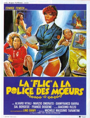 A Policewoman on the Porno Squad Poster Movie French 11x17