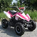 Mini Electric Kids Racer 800 Watt Pocket Quad Bike / ATV Ride-On pink