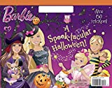 Mary Man-Kong A Spook-Tacular Halloween! (Barbie) (Big Coloring Book)