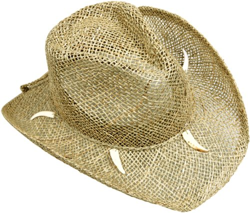 Adult Crocodile Dundee Shark Tooth Costume Hat