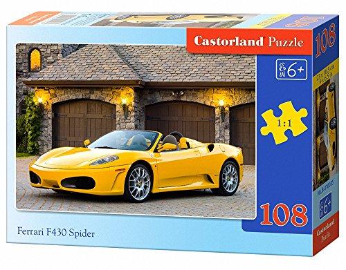 Castorland Ferrari F430 Spider Jigsaw (108-Piece)