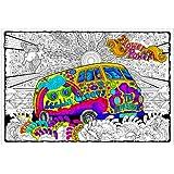 Amazon Melissa Amp Doug Jumbo Color In Poster