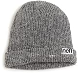 neff-Men's-Fold-Beanie-Grey-One-Size