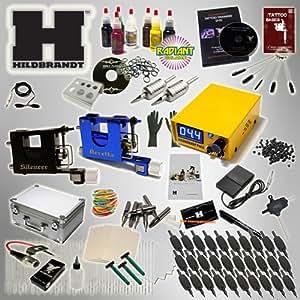 Professional rotary tattoo kit hildbrandt for Tattoo kit rotary