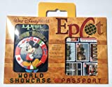 Disney World Epcot World Showcase Passport Kit