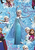 Official Disney Frozen Gift Wrap Pack featuring Queen Elsa, Princess Anna and Olaf - 2 Sheets of Gift Wrap and 2 Tags