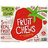 Stretch Island Fruit Co. Fruit Chews, Strawberry, 4.95-Ounce
