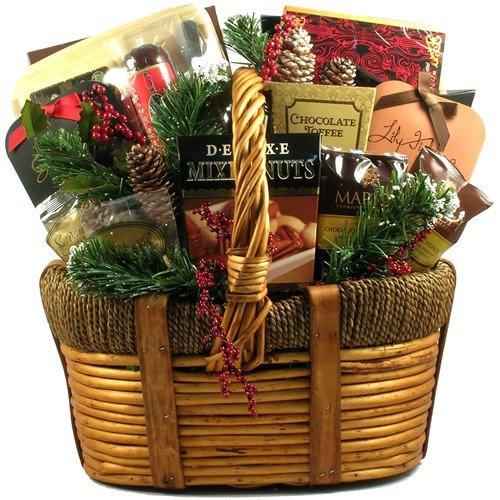 Extravagant Christmas Celebration Holiday Gift Basket ...