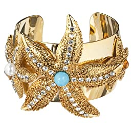 Starfish Cuff Bracelet $29.99 from Target! featured on Shopalicious.com