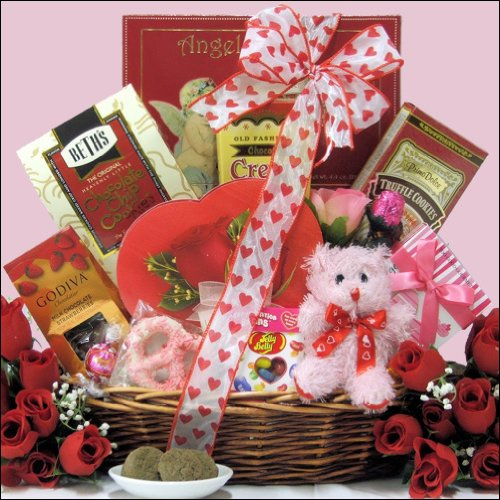 Sweet Love: Valentine's Day Chocolate & Sweets Gift Basket