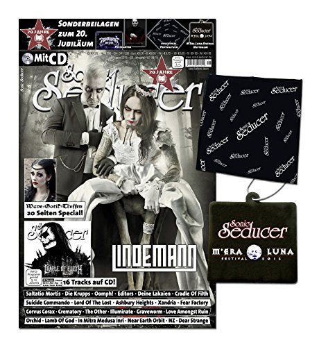 Sonic Seducer 07/08-2015 + Lindemann Titelstory (Rammstein) + 4 exkl. Postkarten von Marilyn Manson, Apoptygma Berzerk u. a. + WGT-Special + CD + exkl. Beilagen, Bands: Saltatio Mortis, Oomph! u.v.m.