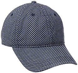 Keds Women's Canvas Baseball Cap, Peacot Mirco Dot, One Size