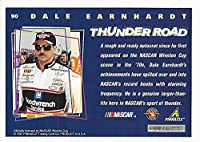 AUTOGRAPHED Dale Earnhardt Sr. 1997 Pinnacle Racers Choice THUNDER ROAD (#3 Goodwrench Racing) Vintage Rare NASCAR Collectible Trading Card with COA