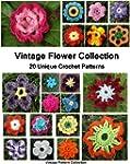 Vintage Flower Collection - 20 Unique...