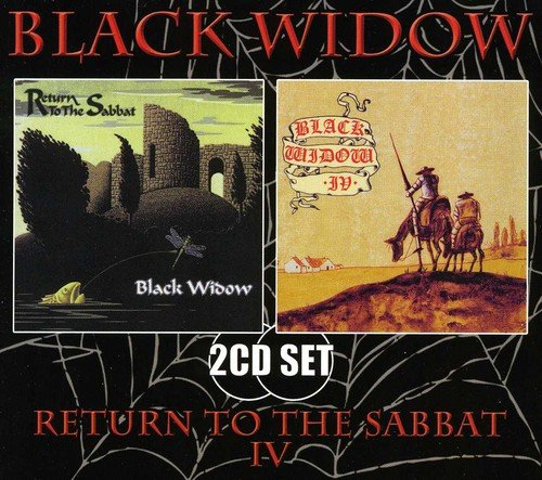 CD : Black Widow - Return To The Sabbat / Iv (Germany - Import, 2PC)