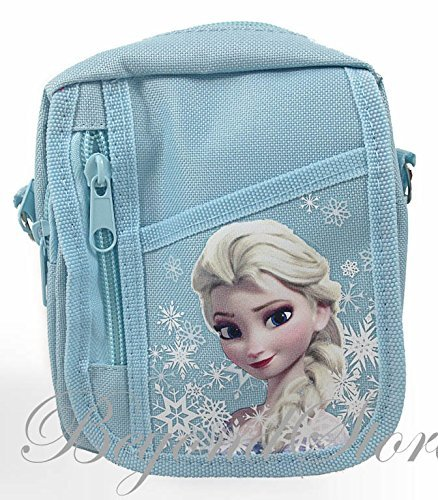 Disney Frozen Baby Blue Camera Bag Case Red Bag Handbag - 1