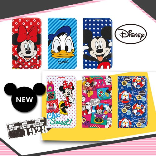 Disney Flip Diary Case ディズニーフリップ ダイアリーケース [iPhone6/iPhone6 PLUS], [Galaxy S5/S4/S3/Note3/Note2] 対応!!! (iPhone6 PLUS, ミニーフェイス)