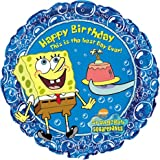 SpongeBob Birthday 18in Balloon