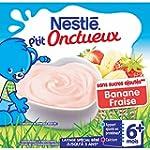 Nestl� B�b� P'tit Onctueux Bananes Fr...