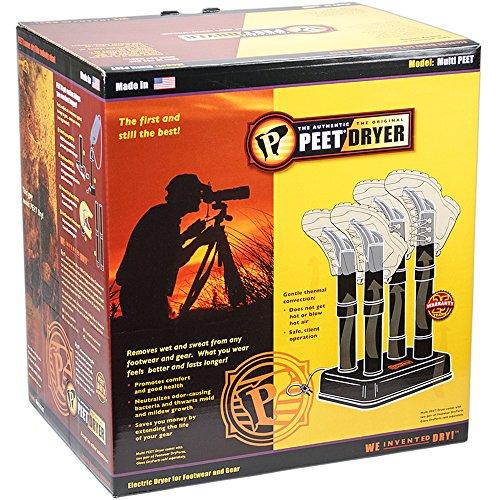 PEET Dryer - Multi 4 Shoe Electric Dryer