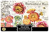 Michel Design Works Paper Placemats, 25-Count, Blooms and Bees