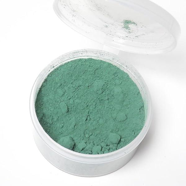 Color Change Thermochromic Pigment 10 Grams 31C-87.8F (Dark Green) (Color: Green, Tamaño: 10g)