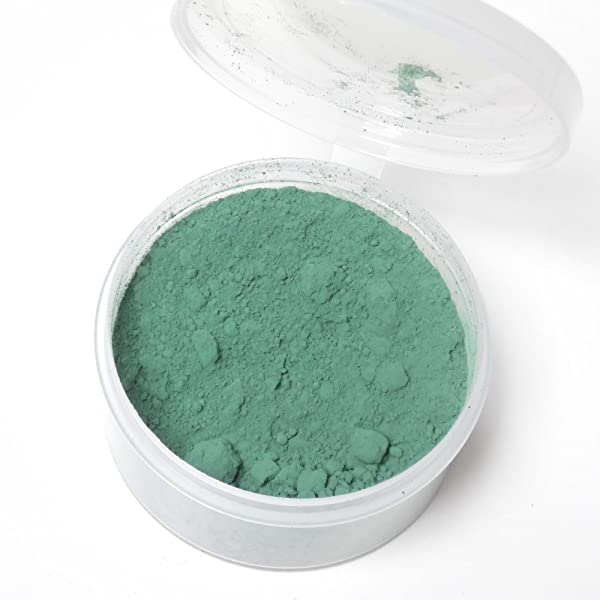 Color Change Thermochromic Pigment 10 Grams 31C-87.8F (Dark Green) (Color: Green, Tamaño: 10g)