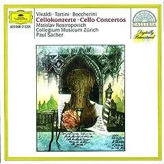 Vivaldi / Tartini / Boccherini: Cello Concertos