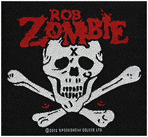 ROB Zombie toppa Dead Return 10 x 9,5 cm hard rock Heavy metal